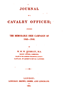 Journal of a Cavalry Officer