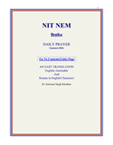 Nitnem: A Daily Prayer