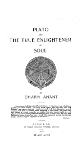 Plato and The True Enlightener of Soul