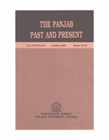 The Punjab Past and Present Vol XXXI Part II