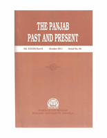 The Punjab Past and Present Vol XXXXII Part II