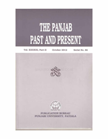 The Punjab Past and Present Vol XXXXIII Part II