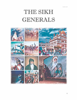 The Sikh Generals By Sikh Society Netherlands