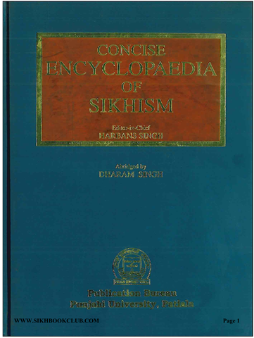 Concise Encylopedia of Sikhism