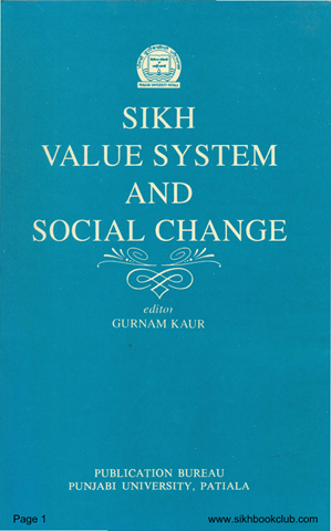 Sikh Value System And Social Change